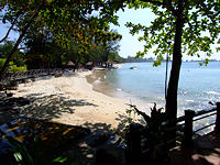 Beach at Sihanoukville