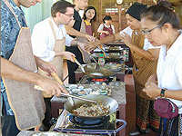 Thai cookery school