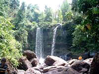 Waterfall at Phnom Kulen